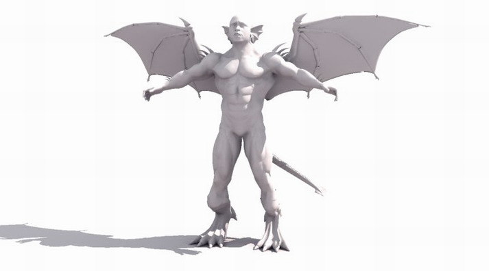 diablo alien 3d max