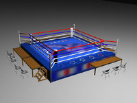 boxing ring chairs tables max