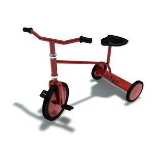 tricycle bicycle 3d 3ds