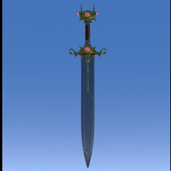 obj sword fantasy