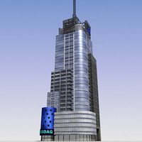 3d skyscraper cities model