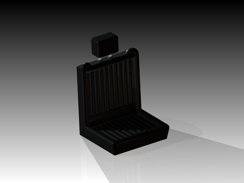 3d model vehicle seat