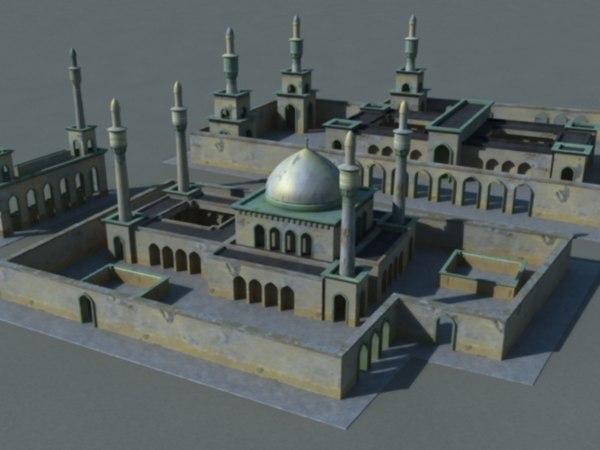 3d ma mosques arab