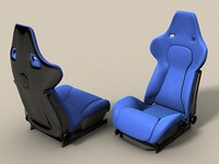 Recaro Racing Seat .3DS