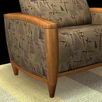 3d model sofa carpet