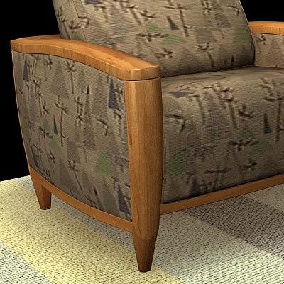 3d model sofa carpet