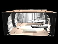 3d interiors sets zipped model