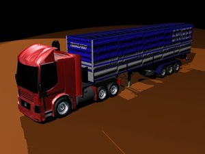 3ds max truck