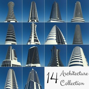 3d office buildings 40