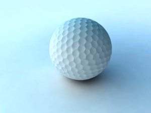 3d mol golf ball golfballs