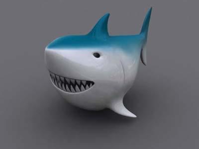 shark 3d max