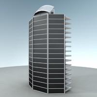 maya skyscraper sci-fi metropolis