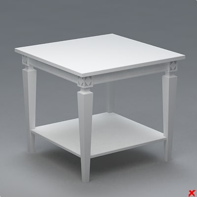 3ds max table coffee