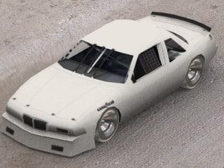 88 buick 3d model