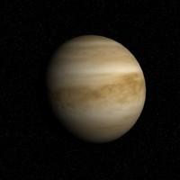 planet venus 3d max