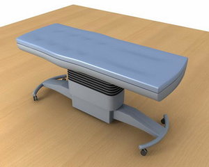 3d max operating table