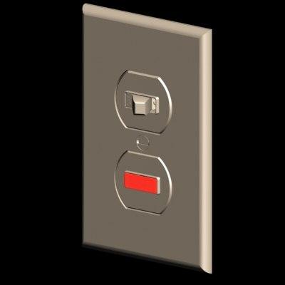 max switch pilot lamp duplex