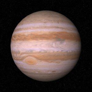 solar planet jupiter 3d model
