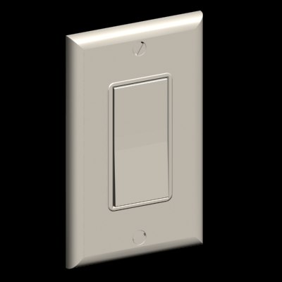 18-Decora style toggle light switch and materials