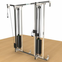 machine grunsport reha 3d model