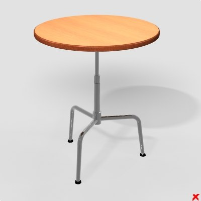 table occasional 3d model