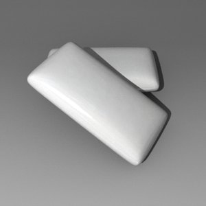 3d chewing gum
