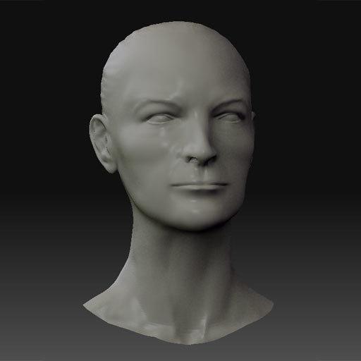 maya woman head