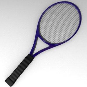 3ds tennis racket