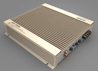3d model car amplifier