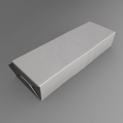 3d model chewing gum