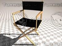 cinema4d regiestuhl chair