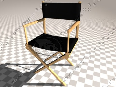 cinema4d regiestuhl chair