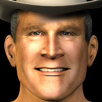 head george w bush 3ds