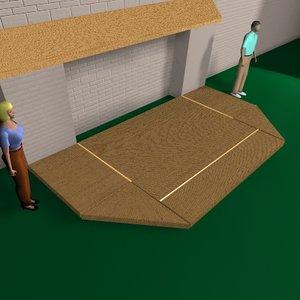 murphy stage design 3d model