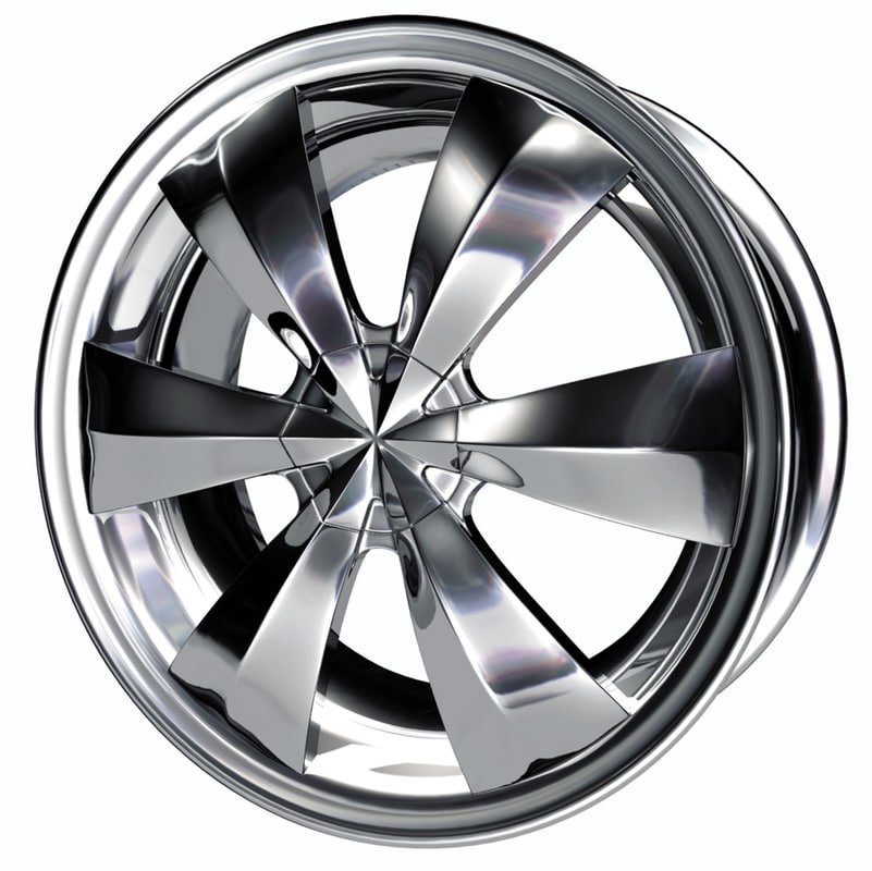 wheels 3d model