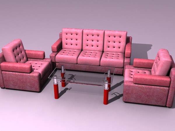 chairs sofa 3d model