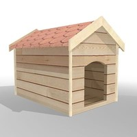 wooden dog house max