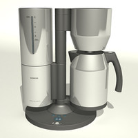 siemens coffee maker 3d model