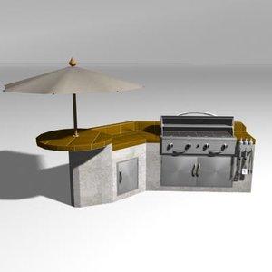 bbq island grill max