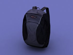 3d model backpack pack