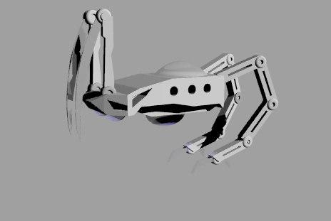 3d model mech