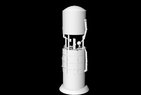 tower robotic arms construction 3d 3dm