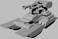 Dual Cannon Tank