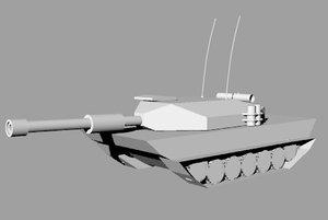 challenger tank 3dm