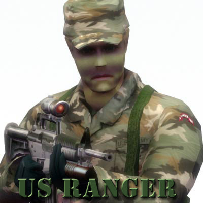 3d ranger army model