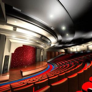 movie theatre stage 3ds