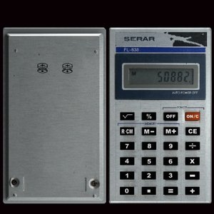 3d model hand calculator