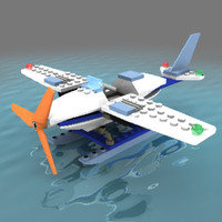 Lego seaplane - Adventure set