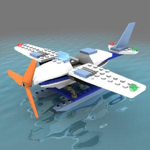 maya seaplane adventure lego set