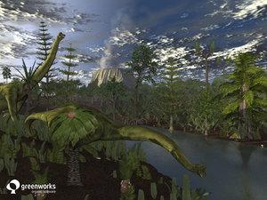 prehistoric trees plants xfrogplants obj